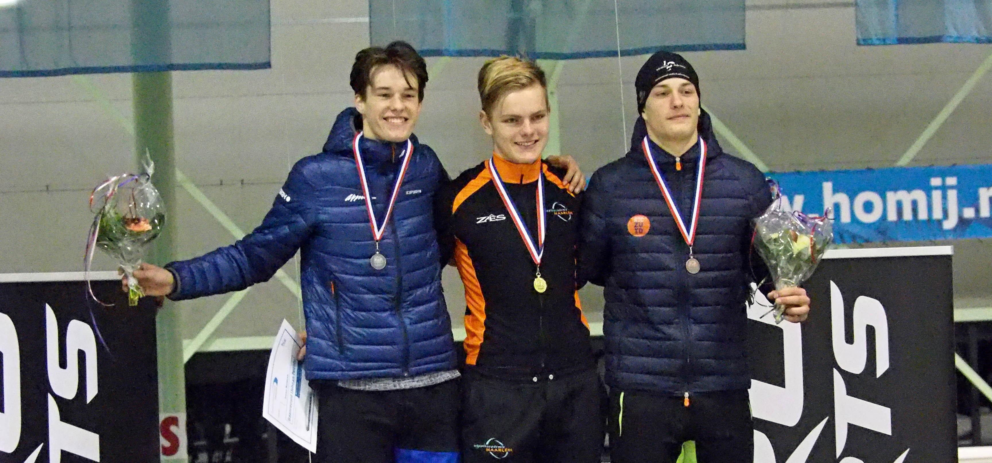 Eerste RTC-Zuid medaille op NK door Jeremy Overheul